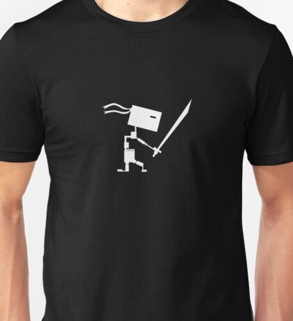 Master of the Ninjutbots (White Print) Unisex T-Shirt