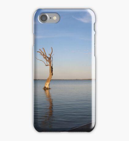 Early morning on Lake Bonney iPhone Case/Skin