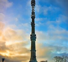 Ostankino Tower by Gouzelka