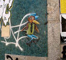 The cool bird at Porto by Diana F. Sá