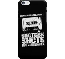 Driver Picks the Music iPhone Case/Skin