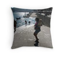 Ribeira - Porto Throw Pillow