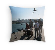 Ribeira - Porto II Throw Pillow