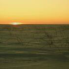 Sunset with Ski Goggles by Michael Stocks