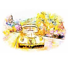 Painted Drive Photographic Print
