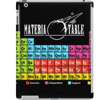 Final Fantasy 7 Materia Chart (elemental chart) iPad Case/Skin