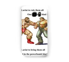 Zangief and Haggar, powerbombs and lariats Samsung Galaxy Case/Skin