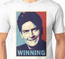 Winning, by Charlie Sheen Unisex T-Shirt