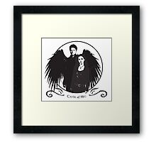 A Match Made in Heaven? Framed Print