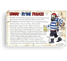 The Pirate Canvas Print