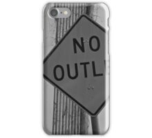 No Outlet iPhone Case/Skin