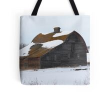 Lonely Prairie Barn   Tote Bag