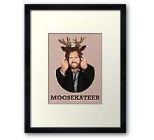 Moosekateer Framed Print