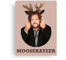 Moosekateer Canvas Print