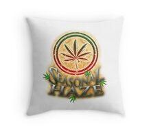 Seasonal Haze 3 Throw Pillow