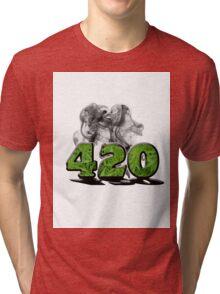 420 HAZE Tri-blend T-Shirt