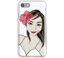 Pretty Pacific Girl iPhone Case/Skin