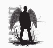 Castiel the Angel by ElocinMuse