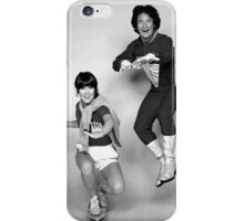 Dynamic Duo \\ Mork and Mindy iPhone Case/Skin