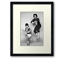 Dynamic Duo \\ Mork and Mindy Framed Print