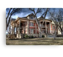 Bivins Home Canvas Print