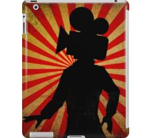 Unisex Film Camera head, film geek stuff iPad Case/Skin