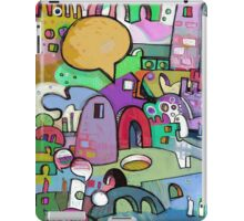 Color Starts The Conversation iPad Case/Skin