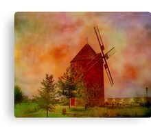 La Belle Province  Quebec   Canvas Print