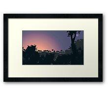 Before Dawn Framed Print