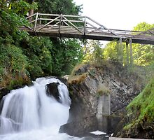 Lower Tumwater Falls by DiamondCactus