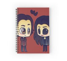 Sam & Ruby Spiral Notebook