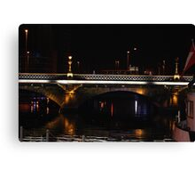 the queen elizabeth bridge Canvas Print