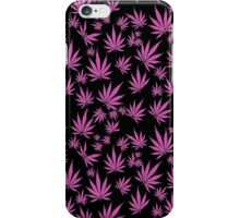 Pink Kush (Leaves in the wind) iPhone Case/Skin