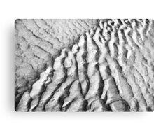 Sand Patterns Canvas Print