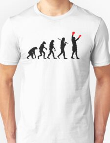 Boxing Champion Evolution Unisex T-Shirt