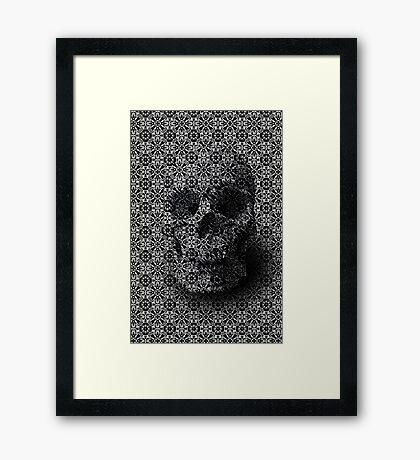 Hidden in the Pattern Framed Print