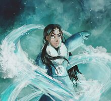 Avatar: The Last Airbender Katara Painting by maiavz
