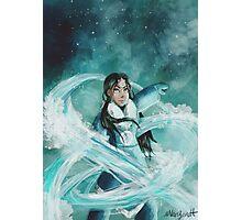 Avatar: The Last Airbender Katara Painting Photographic Print