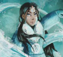 Avatar: The Last Airbender Katara Painting Sticker