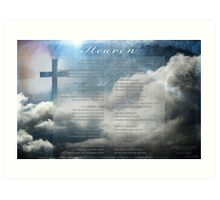 Heaven's Poem Art Print