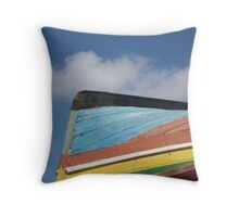 primary boat Throw Pillow