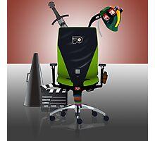 David Boreanaz: Director's Chair Photographic Print