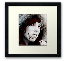 cold as death Framed Print