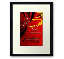 China: Yellow River Framed Print