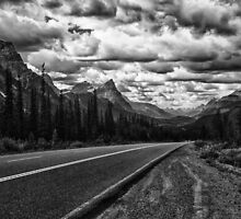 Cruising the Icefields Parkway by Kristin Repsher