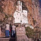 Ostrog monastery by aleksandra15