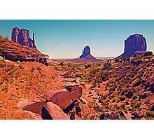 Paint The Valley Photographic Print