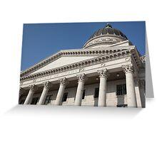 Capitol Building Facade Greeting Card