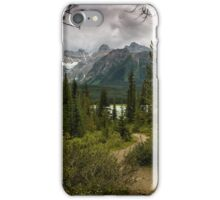 Heavy Skies Over Herbert Lake iPhone Case/Skin