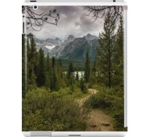 Heavy Skies Over Herbert Lake iPad Case/Skin